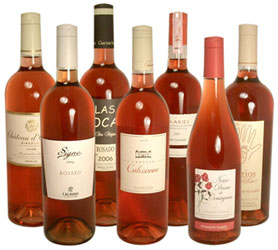 Pink Champagne Selection